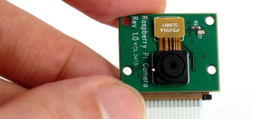 Raspberry Pi camera module (raspicam)